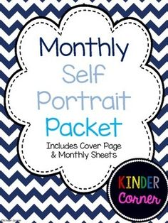 Monthly Self Portrait Packet FREE