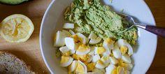 GREAT, fast, healthy Avocado Egg Salad Recipe! 21 Day fix