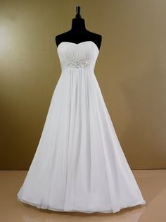 This Style Is Great For The Pear Shape Body Type And Le Or Thick Simple Informal Wedding Dressesplus Size