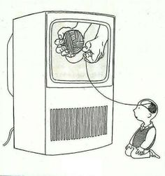 - How much does television affect your young mind? What thoughts are even yours?