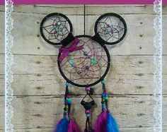 Minnie Mouse Dream Catcher by HappyHolleroo on Etsy