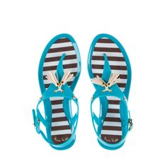 Hamptons Jelly Sandals | Products | Henri Bendel