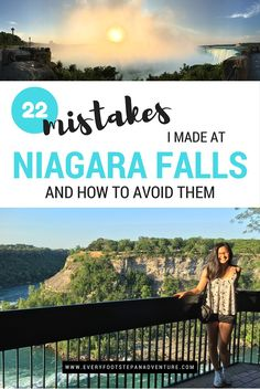Mistake after mistake, we did everything wrong at Niagara Falls. It was quite hilarious actually. So you don't have to make the same mistakes we did, here are 22 tips of what to do and what not to do when you visit Niagara Falls, Canada!