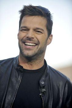 Beautiful, beautiful, Ricky Martin.