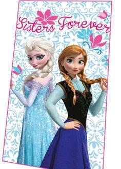 Manta polar Elsa y Anna, azul. Frozen: El Reino del Hielo 100x150cm Estupenda manta polar con la imagen de las protagonistas de Frozen: El reino del Hielo.