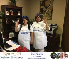 "The ""Flos"" from Progressive visited our office for Halloween  https://deliverymaxx.com/DealerReviews.aspx?DealerCode=E475  #Progressive #auto #Halloween #fun #KenAllenInsuranceAgency"