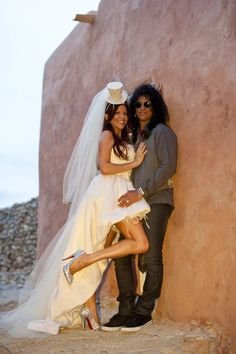 Perla and Slash. Wedding!!