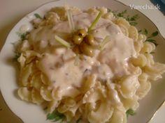 Šampiňónová omáčka (fotorecept) Risotto, Ethnic Recipes, Food, Cooking, Essen, Meals, Yemek, Eten