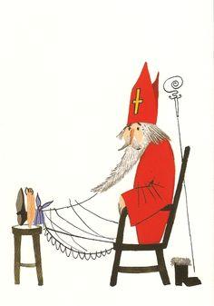 Saint Nicholas, Santa Claus, Sinter Klaas, & Pere Noel | shelleysdavies.com