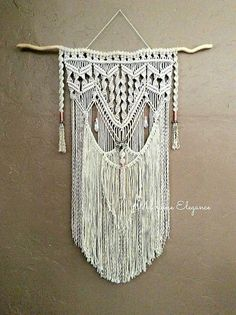 Large Macrame Wall Hanging Tapestry Woven Wall #art #fiberart @EtsyMktgTool http://etsy.me/2y2apEX