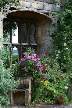 garden window...