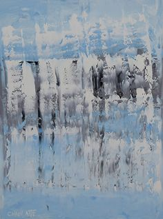 Winter Ocean 3, Ocean 48 by Marino Chanlatte Oil ~ 24 x 18