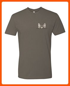 Panoware Men's Pocket Cat T-Shirt, Warm Grey, Small - Cool and funny shirts (*Amazon Partner-Link)