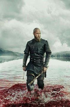 Ragnar Lothbrok played by Travis Fimmel in Vikings, Season 3 Travis Fimmel Vikingos, Vikings Travis Fimmel, Ragnar Lothbrok Vikings, Ragnar Lothbrok Quotes, Ragnar Quotes, Vikings Tv Series, Vikings Tv Show, History Channel, Norse Mythology