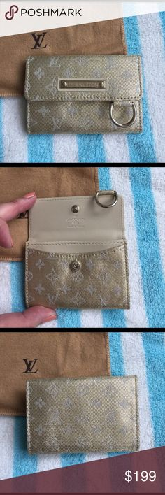 Louis Vuitton golden key holder New. Made in France. Limited edition. Louis Vuitton Accessories Key & Card Holders