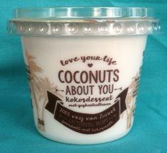 Kokosyoghurt van Aldi, vegan