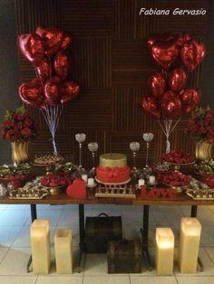Festa Buzin Icaraí  - 40 anos Decoração, bolo e flores - Fabiana Gervasio