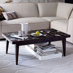 Lubna Chowdhary Tiled Coffee Table - Bronze
