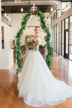 Festive Christmas holiday wedding hair and makeup by Meghana Prasad, Chicago bridal hair and makeup artist  www.meghanaprasad.com