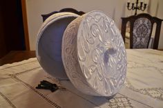 hat box - my shabby white home