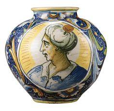 Boccia in maiolica policroma<br>bottega di Mastro Domenico, Venezia, metà del secolo XVI | lot | Sotheby's