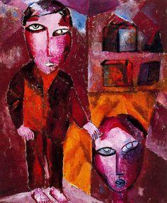 Two Boys (1919) Lasar Segall