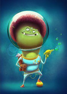 15 Ilustrações criativas por Aleksey Baydakov