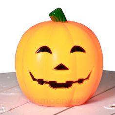 Lampe à piquer en forme de citrouille, référence 1523004 - Décoration et lumières pour Halloween chez Luminaire.fr !