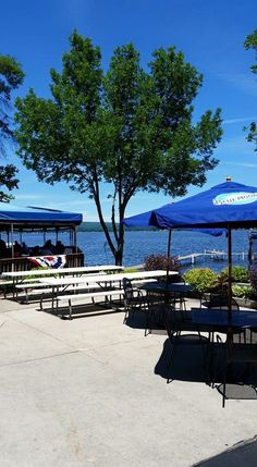 Waterfront restaurants in Wisconsin (pictured: Fitz's on the Lake)