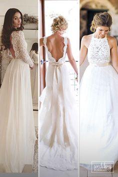 Bridal Inspiration: Rustic Wedding Dresses ❤ It is better if rustic wedding dresses will be sheath or mermaid silhouette and natural fabrics. See more: http://www.weddingforward.com/rustic-wedding-dresses/ #wedding #rustic #dresses