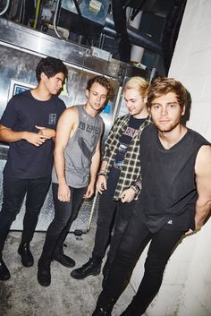 5 Seconds of Summer for Kerrang Magazine - 2016