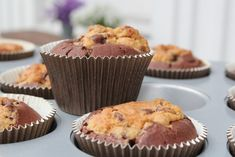 Passion 4 baking » Chocolate Chip Cookie Dough Cupcakes