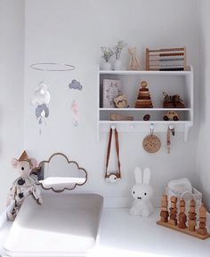 """Georgie Ludlow on Instagram: """"This little changing corner ❤️ Tap for details & to shop. Thank you @joelleblok"""" Nursery Neutral, Neutral Nurseries, Corner, Shelves, Photo And Video, Simple, Shopping, Instagram, Videos"""