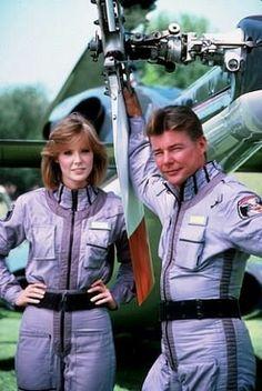 """Águia de Fogo / """"Airwolf"""" Jean Bruce Scott, Jan-Michael Vincent 1985 CBS"""