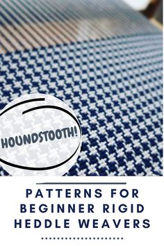 Find out which are the best patterns for beginner rigid heddle weavers.   #weavingpatterns #beginnerrigidheddleweaving #patternsforbeginnerweavers Weaving Patterns, Needlework, Etsy Shop, Knitting, Inspiration, Weaving, Embroidery, Biblical Inspiration, Dressmaking