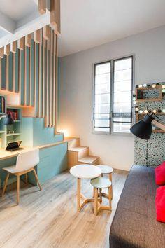 miniature Chambre avec vue, Paris, WOM Design - Stéphanie Michel-Girard - architecte d'intérieur