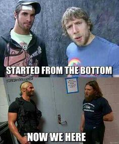 Daniel Bryan and Seth Rollins