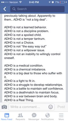 ADHD is a ReaL DiSorDeR! Please educate yourself before you judge. #ahdhawareness
