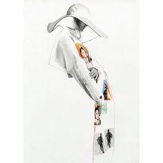 J.W Anderson x Star Wars womenswear creation. model @lauregourlant @supamodelmanagement, make up: @tina_sol_