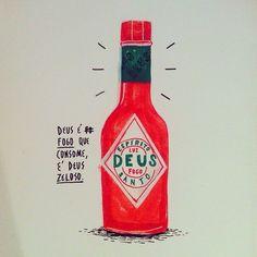 Felipe Guga é um ilustrador do Rio que encontrei no Instagram e imediatamente me chamou a atenção pela criatividade. Confere...