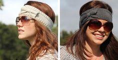 Trendy Winter Bow Headbands in 5 Colors | Jane