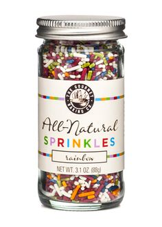 Rainbow All-Natural Sprinkles
