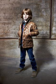 Probably the coolest quilted coat I have seen this winter for boys! Finger in the Nose Fall 2012 #kidsfashion #childrensfashion #kidsdesignerfashion