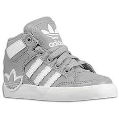 Adidas Shoes For Girls High Tops In Gray