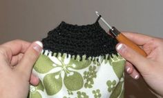 Tea Towel Crochet Craft