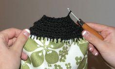 Tea Towel Crochet Craft