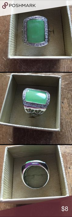 ❤Ring silver plated size 9❤ ❤Ring silver plated size 9❤ Jewelry Rings