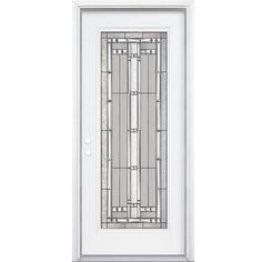 Great Masonite   34 Inch X80 Inch X4 9/16 Inch Elmhurst Antique Black Full Lite. Exterior  DoorsEntry ...