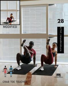 Fitness Workouts, Hiit Workout Videos, Full Body Hiit Workout, Hiit Workout At Home, Gym Workout For Beginners, Gym Workout Tips, Fitness Workout For Women, At Home Workouts, Gym Fitness
