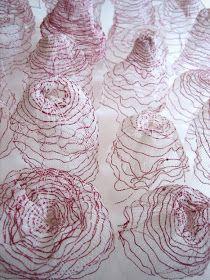 the art room plant: Mireille Vautier Art Fibres Textiles, Textile Fiber Art, Textile Artists, Sculpture Textile, Soft Sculpture, Art Fil, Creation Art, Textiles Techniques, Thread Art